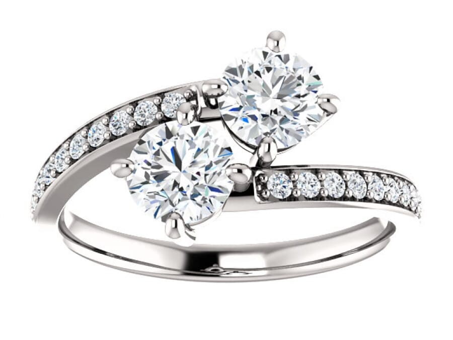 Two Stone Rings for Your Soulmate