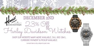 image of 23% off harley davidson watches