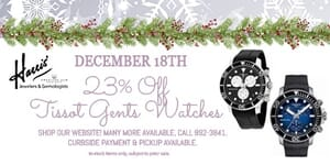 23% off Tissot Gents Watches